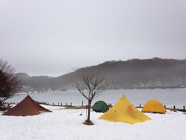 雪の天城山縦走テント泊ハイク(後編)