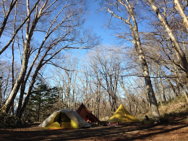 大菩薩嶺〜福ちゃん荘で初めての子連れテント泊登山