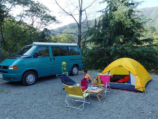 ニュー田代オートキャンプ〜道志Camp