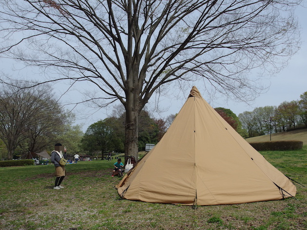 キャンプの準備
