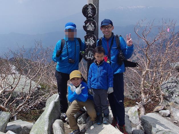 金峰山・瑞牆山〜子供とテント泊登山(前編)