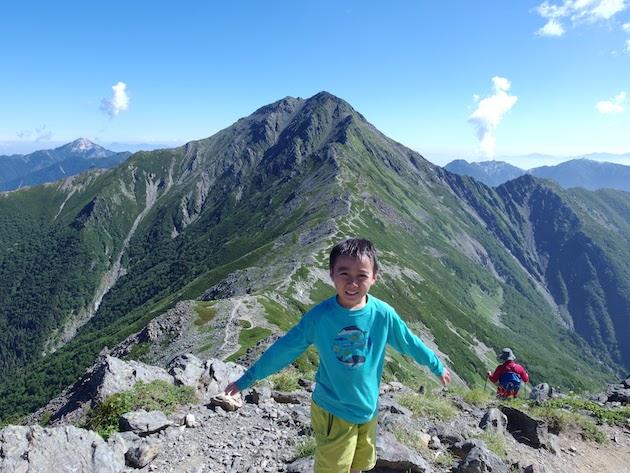 日本第2位の北岳と第3位の間ノ岳へ挑む〜子供とテント泊登山(後編)