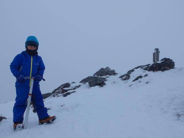 雪の谷川岳へ〜子供と日帰り雪山登山
