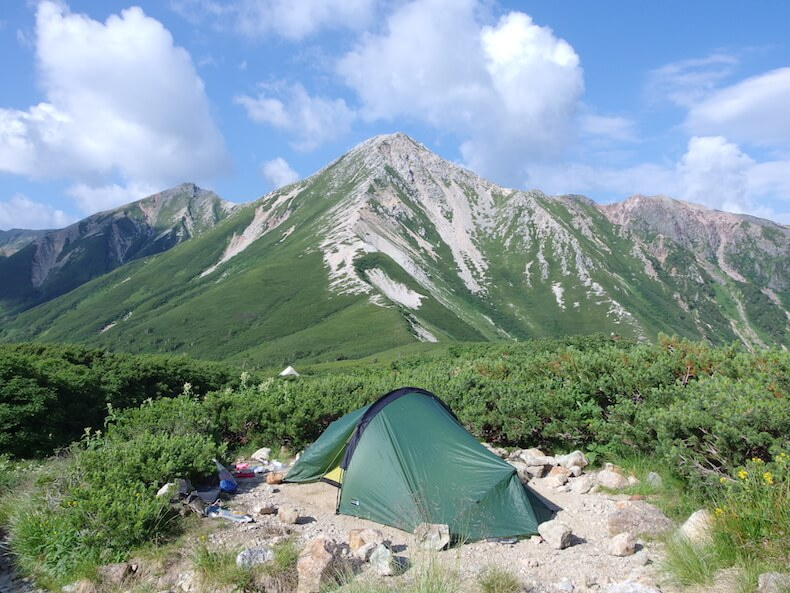42kmのロングハイク!三俣蓮華岳・双六岳〜子供とテント泊登山(前編)