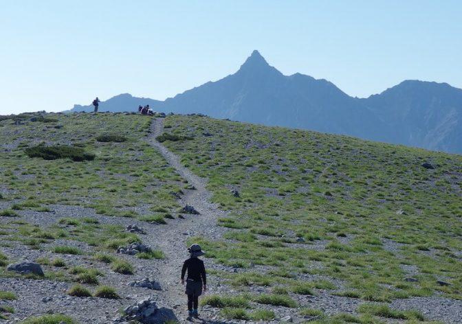 42kmのロングハイク!三俣蓮華岳・双六岳〜子供とテント泊登山(後編)