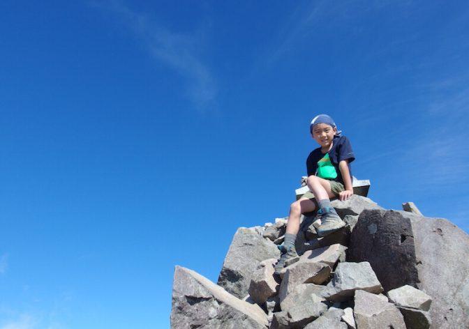 秋晴れの磐梯山〜福島遠征ハイク(その2)