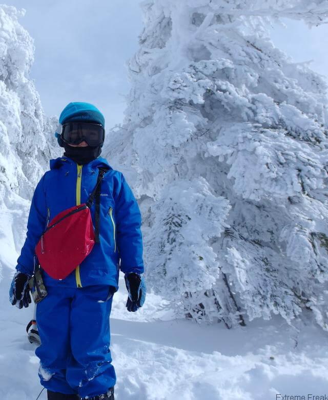 子供の雪山登山装備