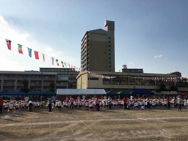 幼稚園の運動会(3)
