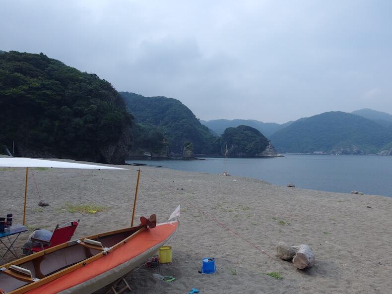 南伊豆・子浦でカヤック&海遊び