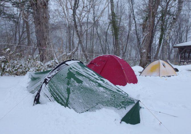 雪の至仏山へ〜子供と雪山テント泊ハイク(前編)