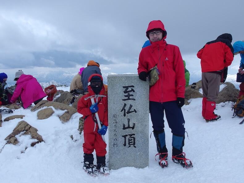 雪の至仏山へ〜子供と雪山テント泊ハイク(後編)