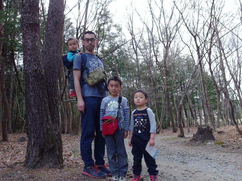 白州・尾白の森でピクニック&山歩