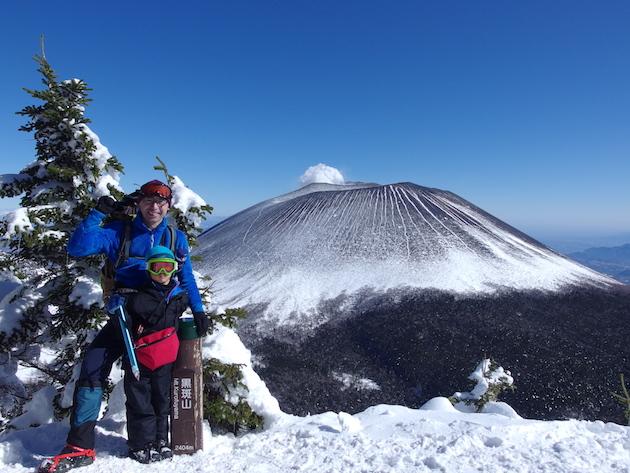 厳冬期の黒斑山へ〜子供と日帰り雪山登山