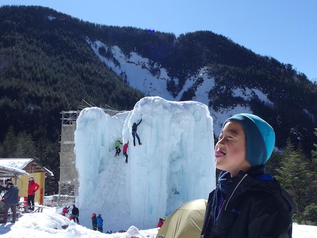 硫黄岳の途中まで〜厳冬期の赤岳鉱泉で子供と雪山テント泊登山(前編)