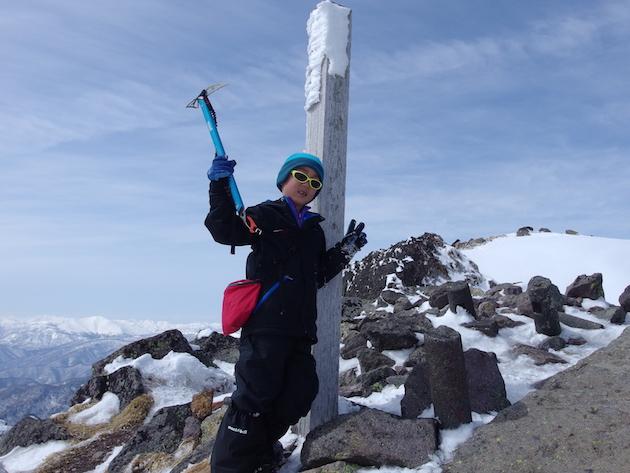 雪の日光白根山(奥白根山)へ〜子供と日帰り雪山登山