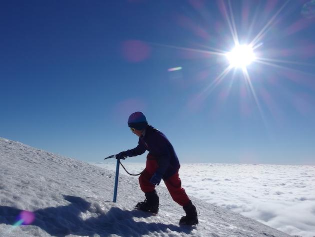 残雪と雷鳥と大雲海の火打山〜子供と雪山テント泊登山(後編)