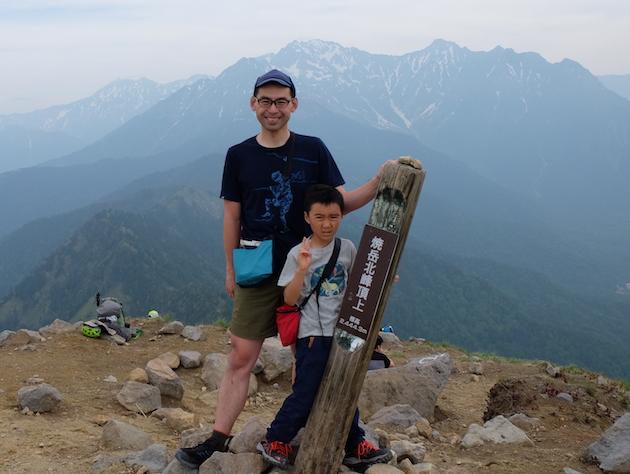 焼岳から上高地へ〜子供と日帰りハイク(前編)