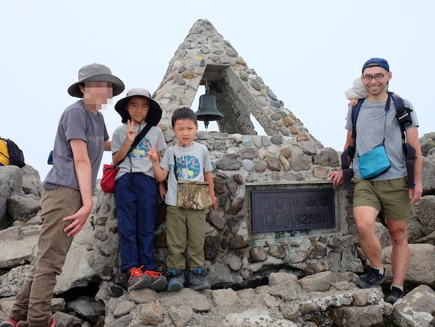山の日は青森県最高峰の岩木山でファミリーハイク
