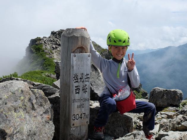 南アルプスの中心、塩見岳に挑戦〜子供とテント泊登山(前編)