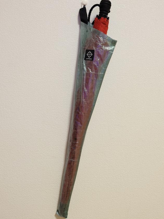 傘袋にもなるEaston Gold 24インチペグ専用ケース