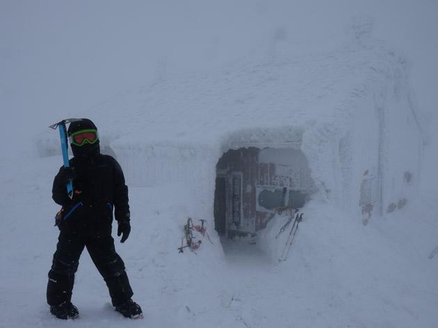 厳冬期の伯耆大山(鳥取)へ~子供と雪山登山