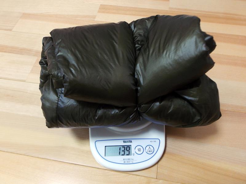 子供サイズの保温用インサレーションパンツはサイズ160でわずか139gという驚きの軽さ
