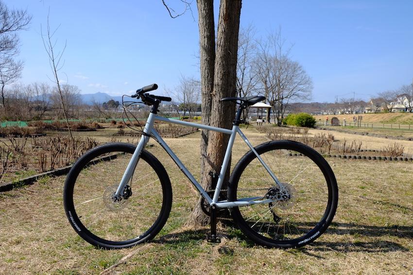 ペップサイクルズNS-S1グレー、お気に入りのマイ自転車