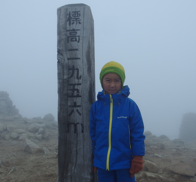 木曽駒ヶ岳山頂