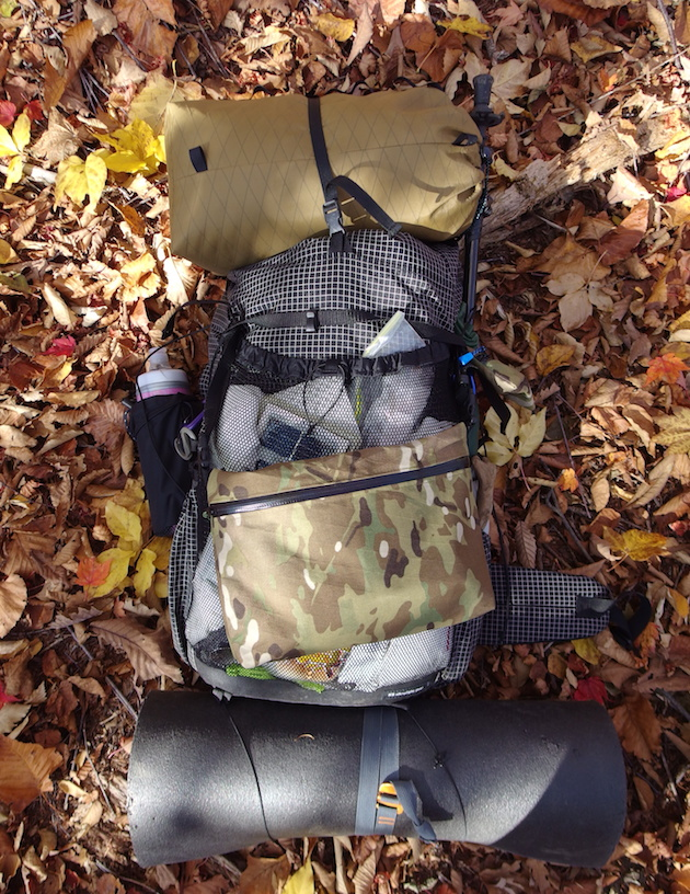 ks ultralight gear KS40 & Myog Staff Bag & SACOCHE