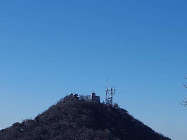 筑波山男体山