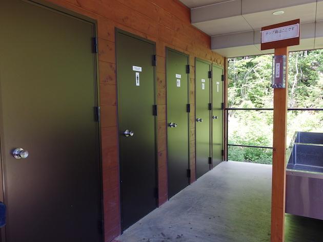 白根御池小屋のトイレ