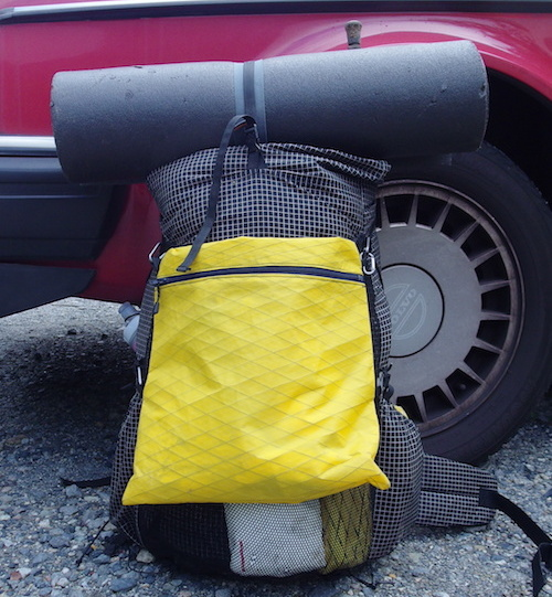 ks ultralight gear KS40 & Myog Annex Bag