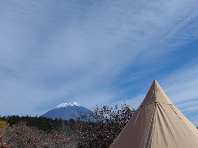 富士山とテンティピ