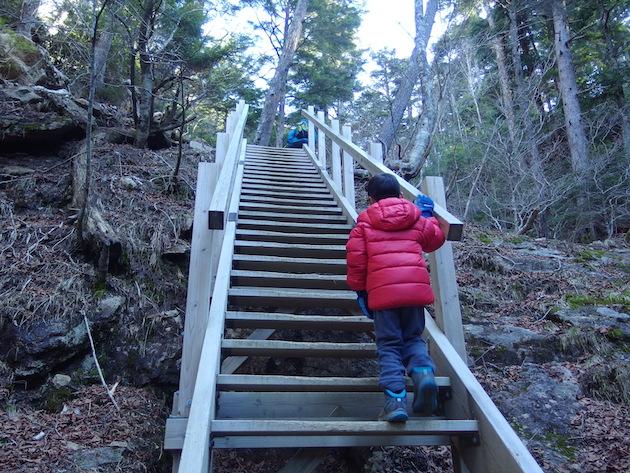 本格的な登りスタート