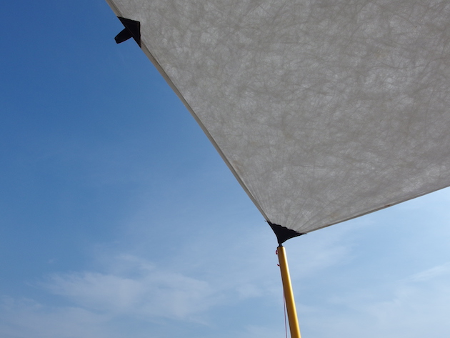 myog tyvek tarp。青と白のコントラストが最高